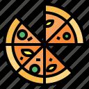 fast, food, italian, junk, pizza
