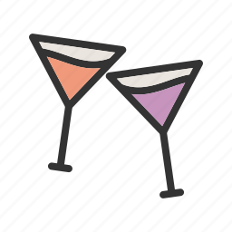 cocktail, cold, drink, glass, ice, juice, soda icon