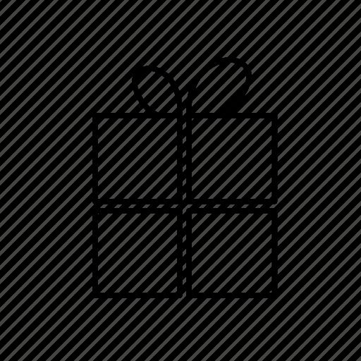 birthday, bow, celebrating, gift, party, presents icon