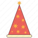 birthday cap, birthday celebration, cap, christmas cap, hat icon