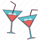 celeration, cheers, drink, glass, whisky glass, wine glass icon