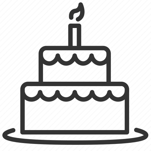 anniversary, birthday, cake, celebrate, celebration, happy, party icon