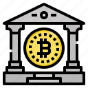 bank, bitcoin, cryptocurrency, digital, money