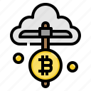 bitcoin, blockchain, cloud, farm, mining