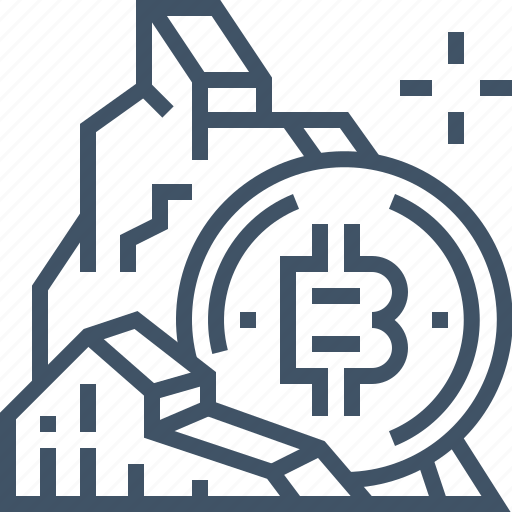 bitcoin, currency, digital, mining, money, online, payment icon