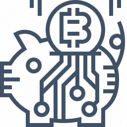 bitcoin, coin, currency, digital, online, payment, saving icon