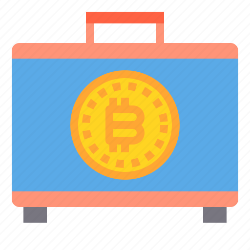 bag, bitcoin, business, currency, money icon