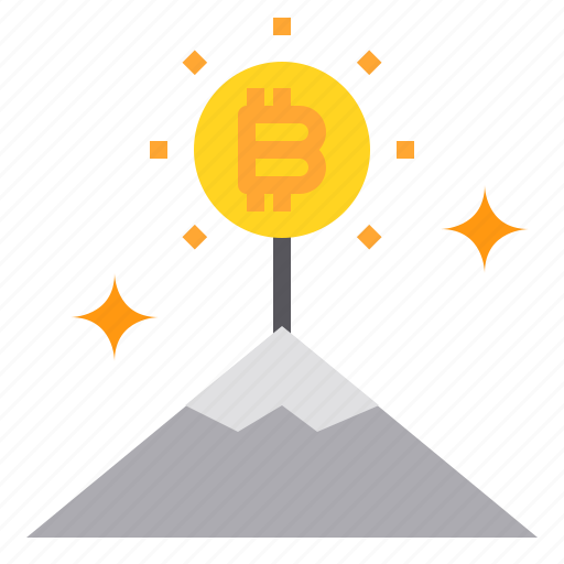 bitcoin, business, currency, money, top, up icon