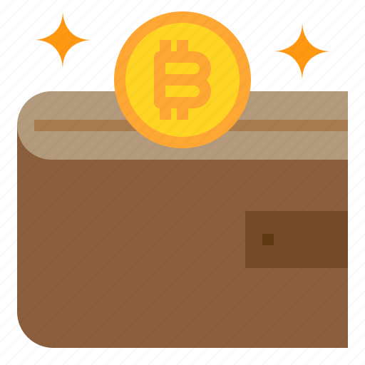 bitcoin, business, currency, money, wallet icon