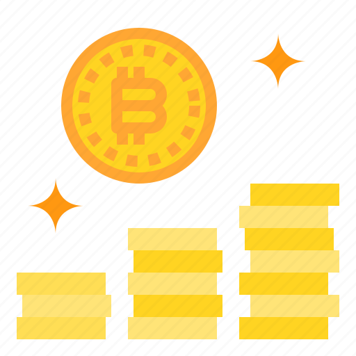 bitcoin, business, coin, currency, money icon