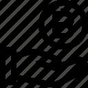 bitcoin, bitcoin icon, coin, coin icon, hand, hand icon icon