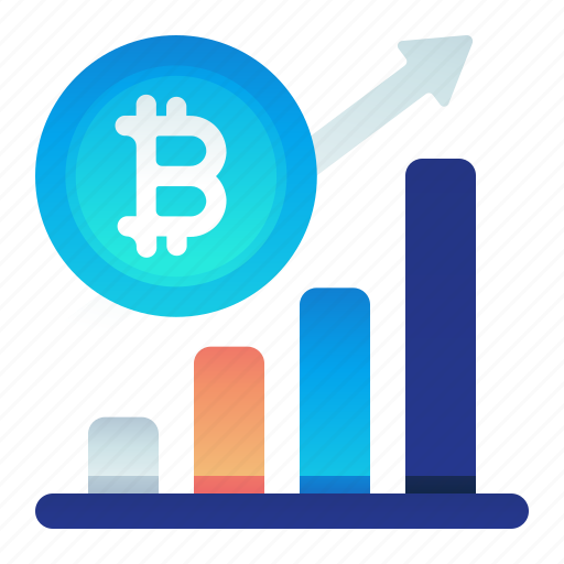 Bitcoin, chart, finance, increase, value icon - Download on Iconfinder