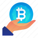 bitcoin, currency, finance, maintenance, money icon