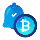 bitcoin, currency, finance, money, notification icon