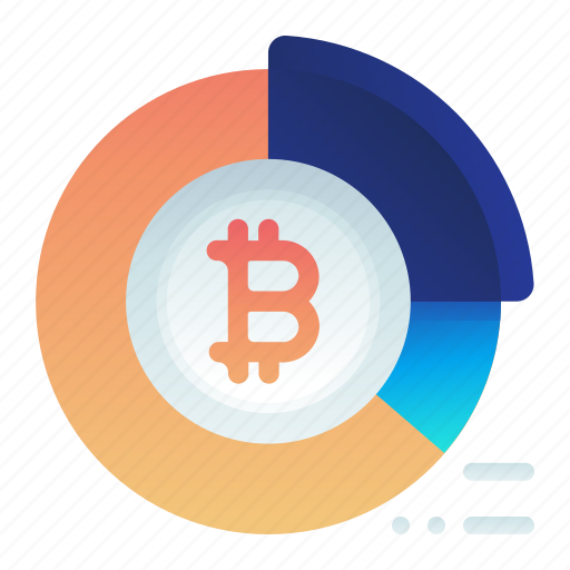 Bitcoin, chart, currency, finance, pie, statistic icon - Download on Iconfinder