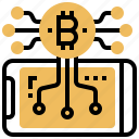 cryptography, digital, payment, transaction, wallet icon