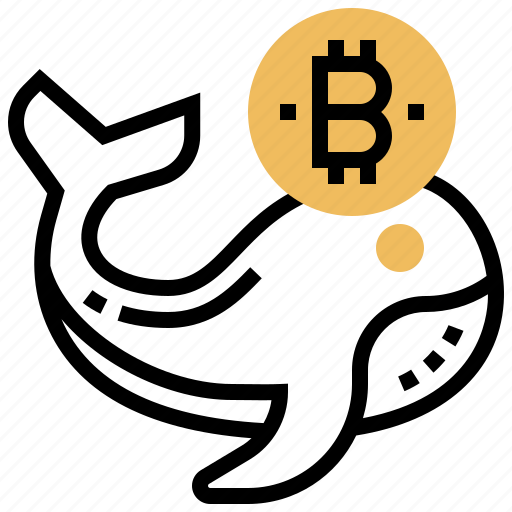 bitcoin, investment, market, trader, whale icon