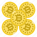 bitcoin, coin, cryptocurrency, digital, money