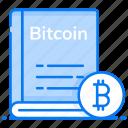 bitcoin book, bitcoin guide, business catalog, directory, financial record, journal