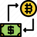 bitcoin, cryptocurrency, digital, exchange, money, pay