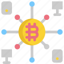 bank, bitcoin, cryptocurrency, device, digital, mobile, money icon