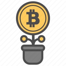 bitcoin, bitcoins, money, save icon
