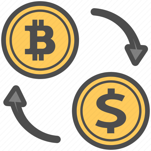 bitcoin, bitcoins, currency, exchange icon