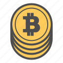 bitcoin, bitcoins, coin, coins, money icon