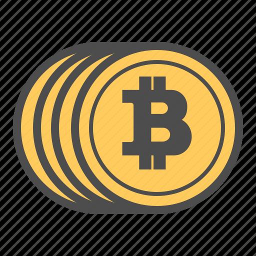 bitcoin, bitcoins, coin, coins, money icon