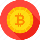 bit, bitcoin, blockchain, coin, cryptocurrency, finance, money icon