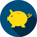 animal, bank, banking, finance, money, pig, piggy icon