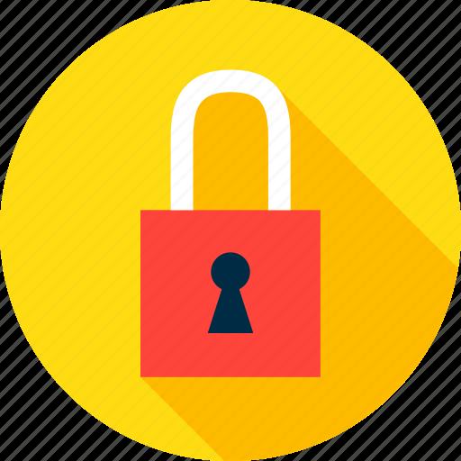 keyhole, lock, padlock, safe, safety, secure, security icon