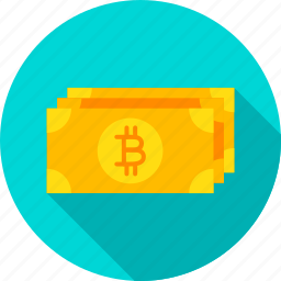 banknote, bit, bitcoin, coin, cryptocurrency, currency, money icon