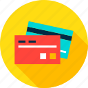 bank, banking, card, credit, debit, finance, money icon