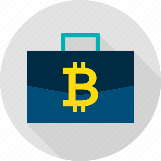 bag, bitcoin, business, case, cryptocurrency, finance, suitcase icon