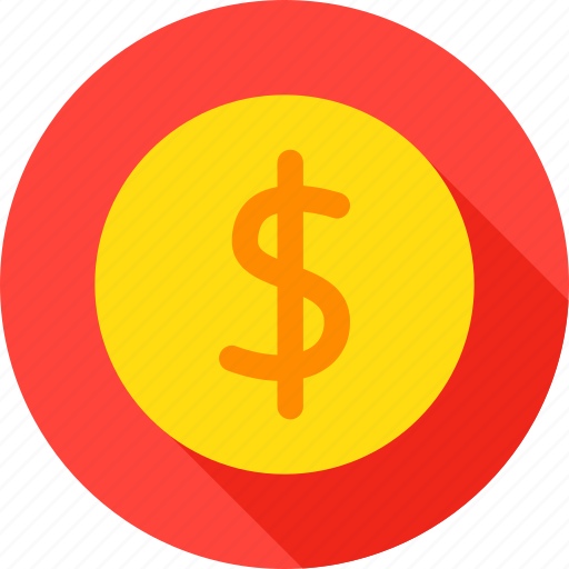 coin, currency, dollar, finance, gold, money, usd icon