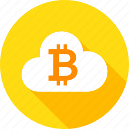 bit, bitcoin, blockchain, cloud, coin, cryptocurrency, technology icon