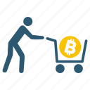 bitcoinbuy, conversion, currency, dollar, exchange, money, transaction icon