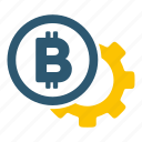 bitcoinsetting, conversion, currency, dollar, exchange, money, transaction icon