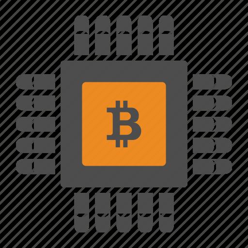 bitcoin, bitcoins, digital icon