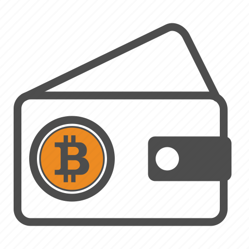 bitcoin, bitcoins, wallet icon