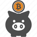 backup, bitcoin, bitcoins, save icon