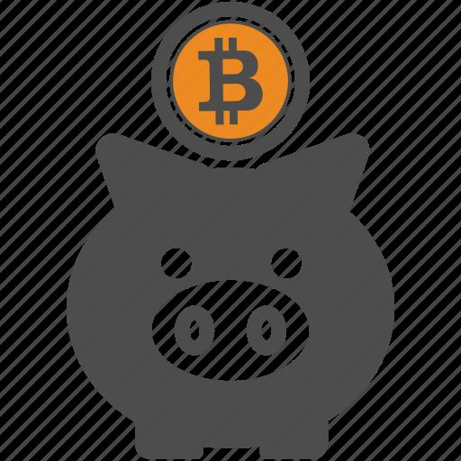 backup, bitcoin, bitcoins, save icon