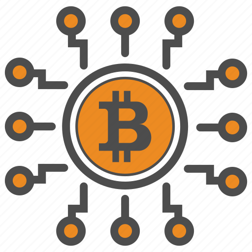 bitcoin, bitcoins, blockchain, cryptocurrency icon