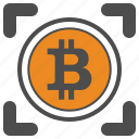 bitcoin, bitcoins, crytocurrency icon