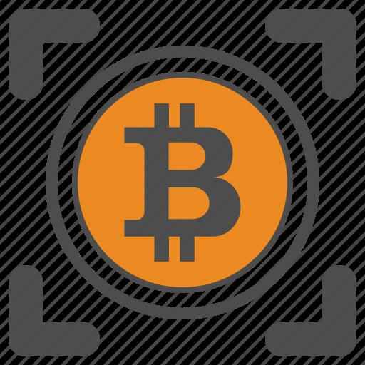 Crytocurrency, bitcoin, bitcoins icon