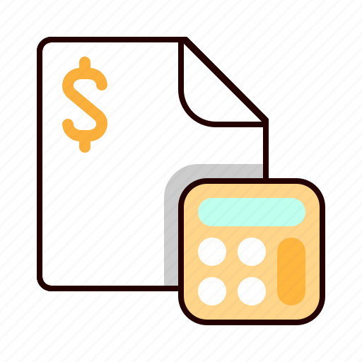 accounting, calculator, count, finance icon