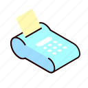 bill, credit, finance, payment icon