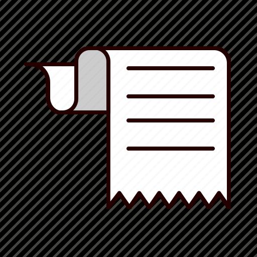 analysis, bill, chart, report icon