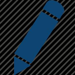 pen, pencil, type, write icon